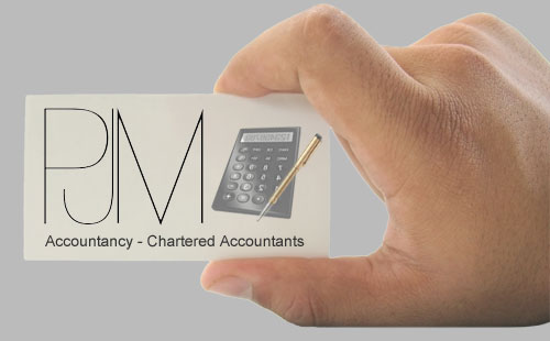 PJM Accountancy Business Card